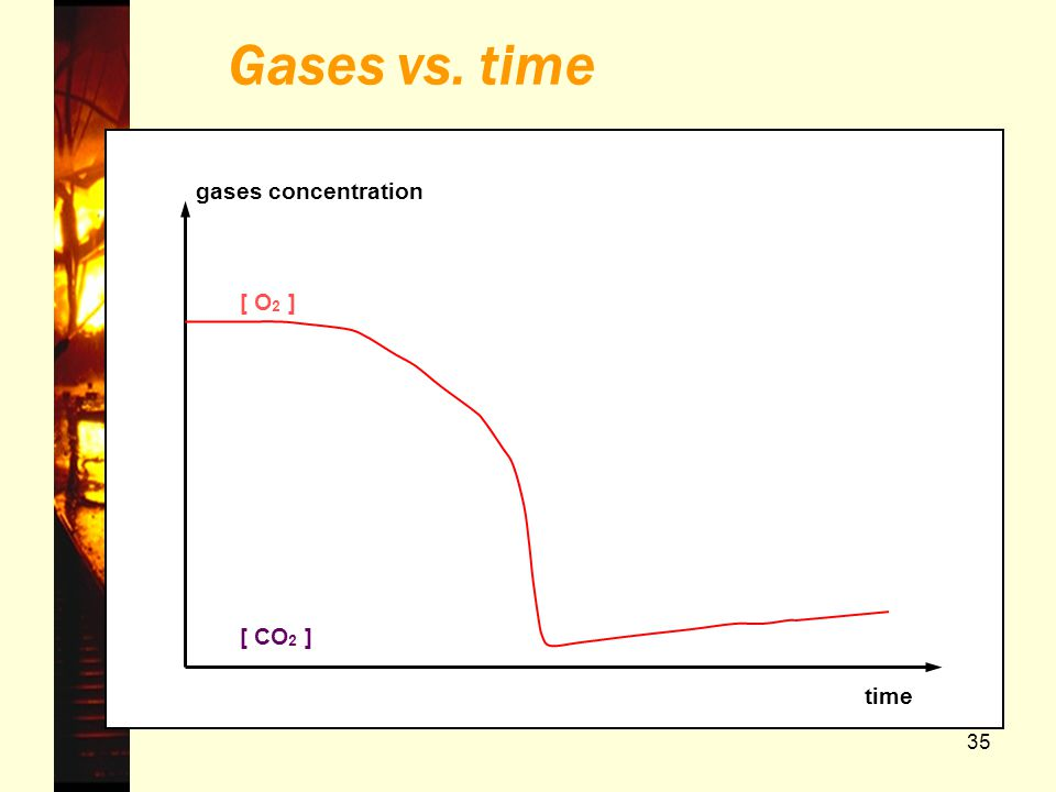 Gases vs. time gases concentration time [ O2 ] [ CO2 ] Belgrade 2006